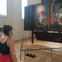 Visual perception of natural colours in paintings: An eye‐tracking study of Grünewald's Resurrection